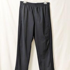Men's Adidas dark grey medium weight track pants